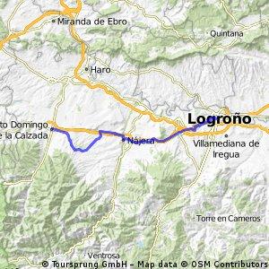 Etappe 3: Logroño - St. Domingo