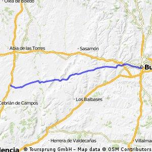 Etappe 5: Burgos - Frómista