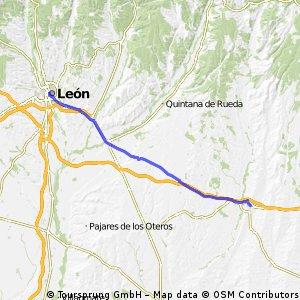 Etappe 7: Sahagún - León