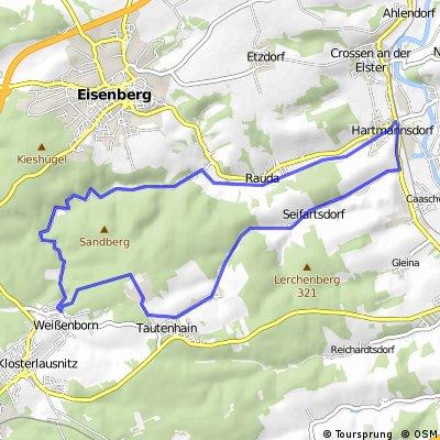 Mühltalschleife über Seifartsdorf