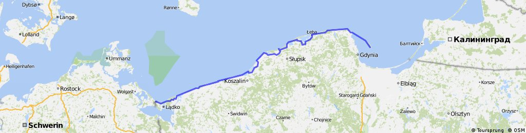 Wybrzeze Baltyku