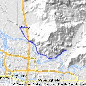Coburg to McKenzie River, OR