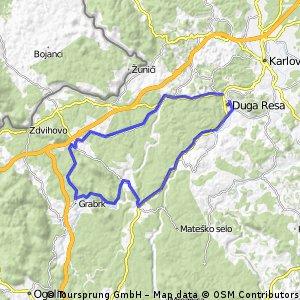 Bosiljevo route