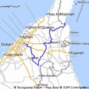 Stage 2, 193 km Desert Stage