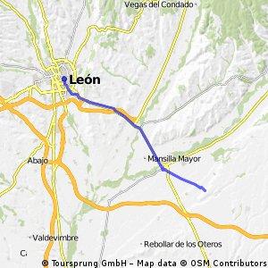 Camino Francés Day 3 Reliegos→León