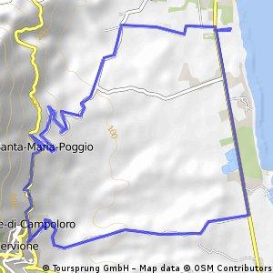 ride through San-Nicolao