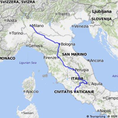 La strada a Roma