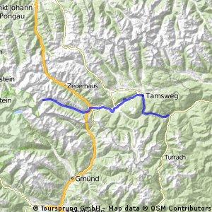 Tour de Mur - day 1