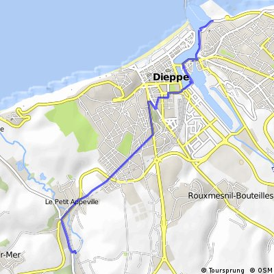 Dieppe to Camping Le Source