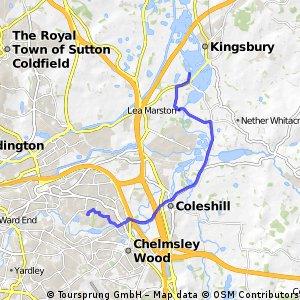 to kingsbury waterpark