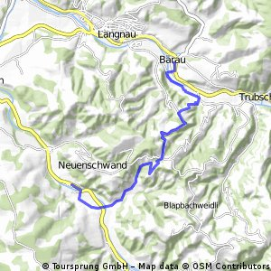 Stäreberg - Hüpfenboden - Horben