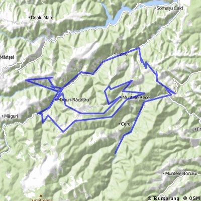 Muguri Racatau 58 km