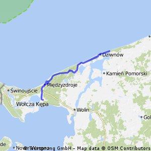 Route de Miedzyzdróje