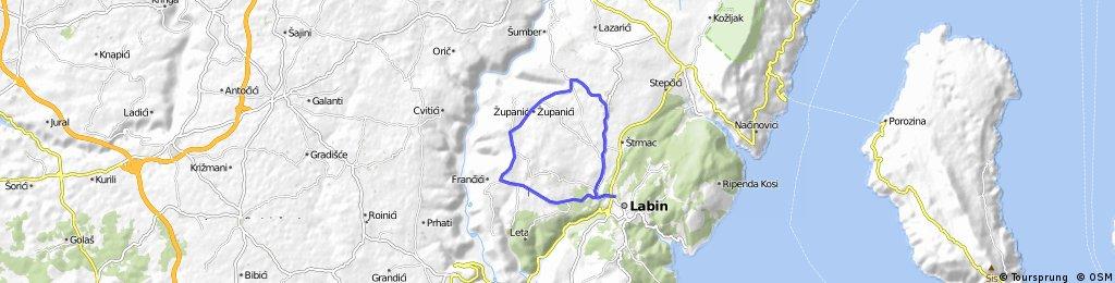 Labin-Nedescina-Sumber-Martinski-Snasici-Labin
