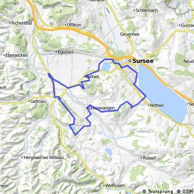 Grosswangen-Ostergau-Höhewald-Schötz-Mauensee