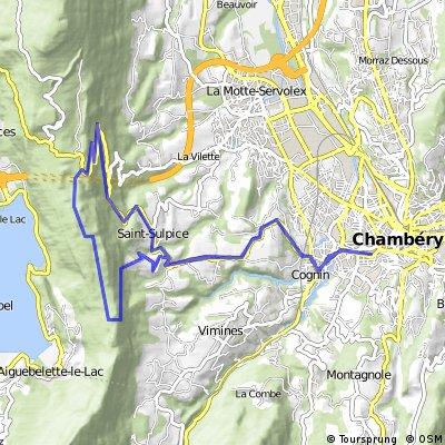 Col de l'Epine, Col du Crucifix loop