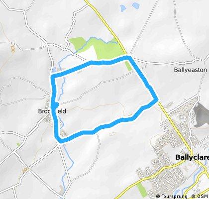 Quick ride through Ballyclare