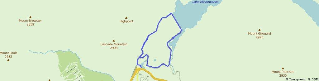 Lake Minnewanka Loop