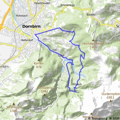 Schwendealpe via Rodelbahn