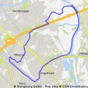 ride through Gent