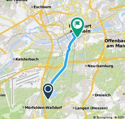 Frankfurt City Triathlon 2016 - Jedermann