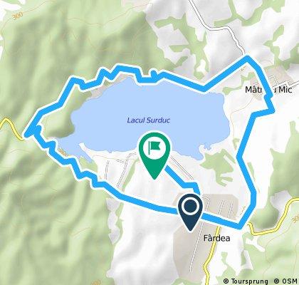 Turul Lacului Surduc