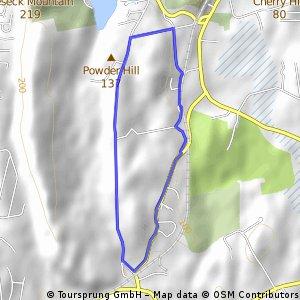 5 mile around Durham