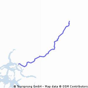 Cochrane - Desembocadura Río Baker
