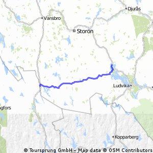4. Tyfors - Grangärde 56 km