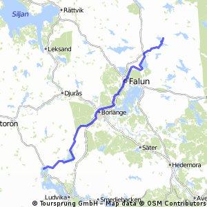 5. Grangärde - Svärdsjö 100 km