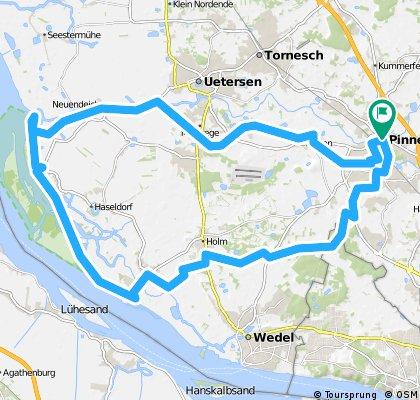 Pinneberg - Pinnausperrwerk - Pinneberg