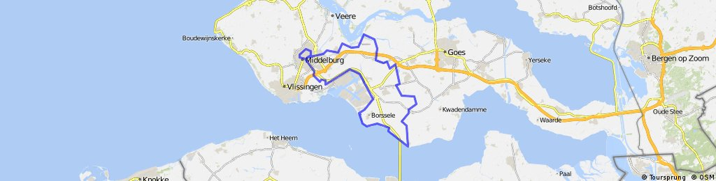 Zak van Zuid-Beveland (68,65 km)