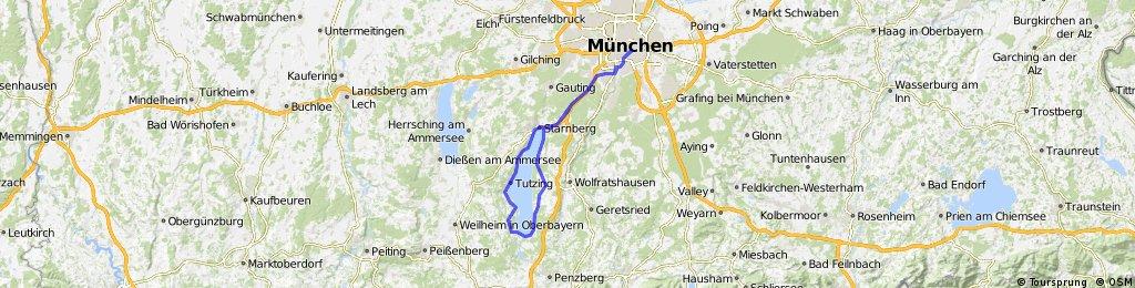 München - Um Starnberger See Herum