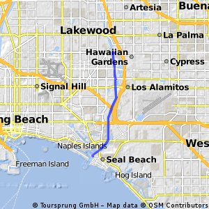 bike tour through Long Beach