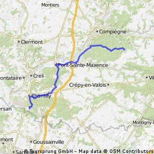 Fahrtag 10 - Pierrefonds - Coye-la-Forêt
