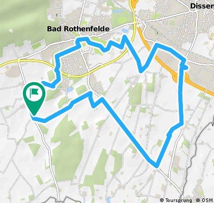 Radrunde durch Bad Rothenfelde