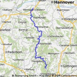 Von Hemeln/Weser nach Apelern