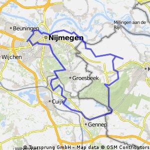 Rondje Nijmegen-Frasselt