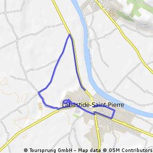 Quick ride through Labastide-Saint-Pierre