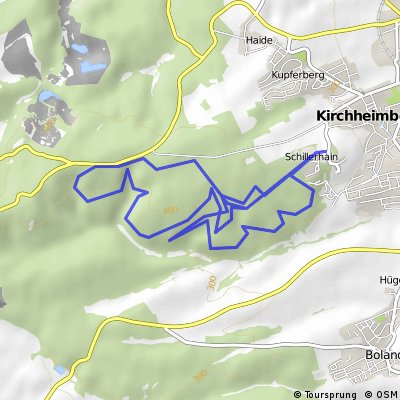 Wandern KirchheimBolanden Weg7+6+5