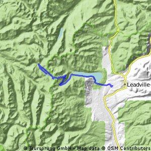 Alpine Cirque to Ivanhoe Lake, CO