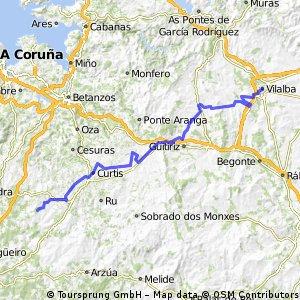 14 Villalba to Frades