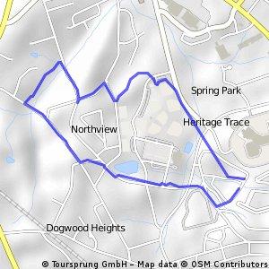 MTB Trail Anderson SC 29625