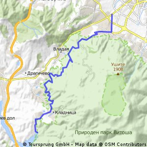 Route to Studena
