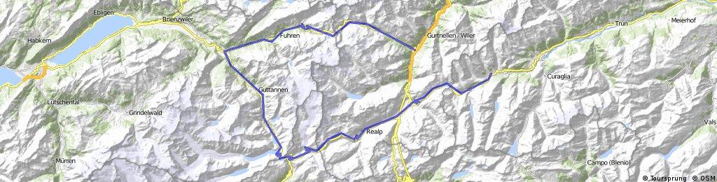Sedrun-Oberalp-Furka-Grimasel-Susten