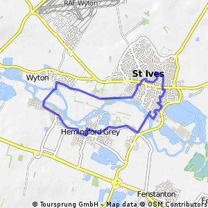 bike tour through Saint Ives