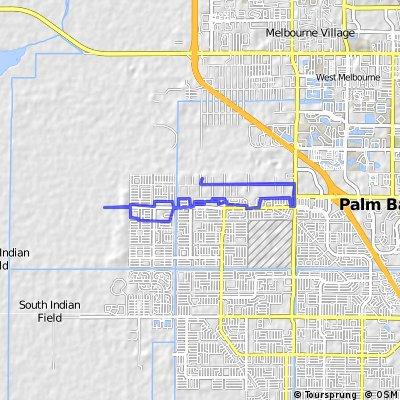 bike tour through Palm Bay