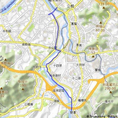 公館(景福租借站)--碧潭(碧潭租借站)