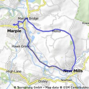 old longhurst lane route