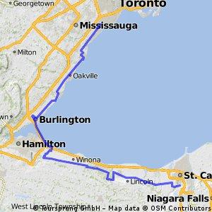 St. Catharines to Toronto